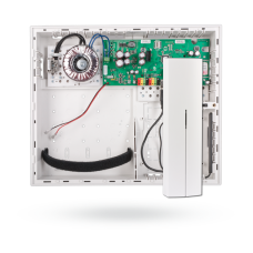 JA-106K Контрольная панель c GSM и LAN коммуникаторами, корпус большого размера,  1 радиомодуль JA-110R.